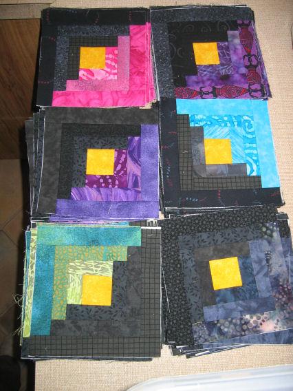 144 blocks, 24 of each colour