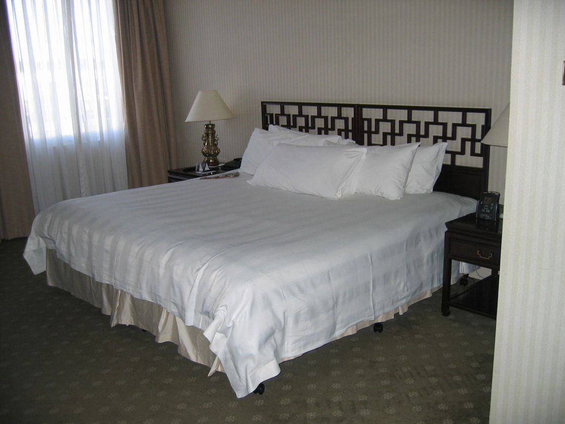 Bedroom of King Suite - only part of this separate room...