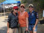 Heidi with World Champion Pro 3-Gun Shooters Katie Harris & Diana Liedorff