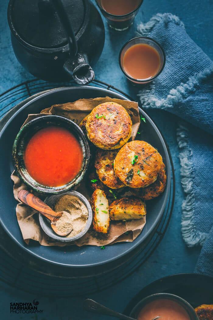 Indian Street Food - Aloo Tikki recipe