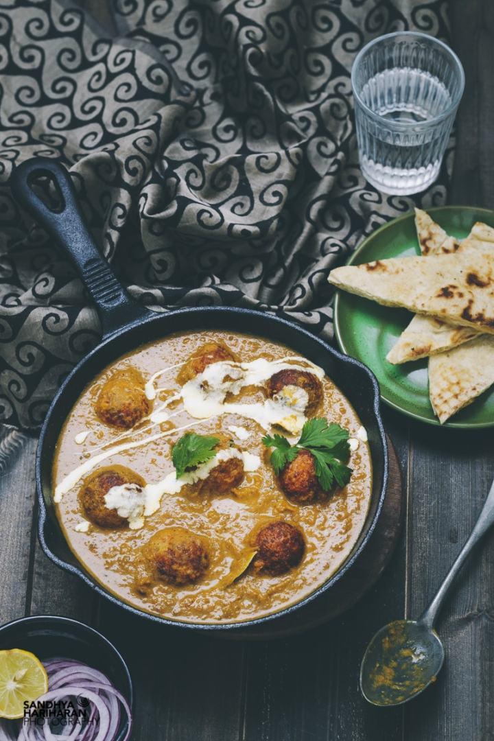 Baked Malai Kofta Curry