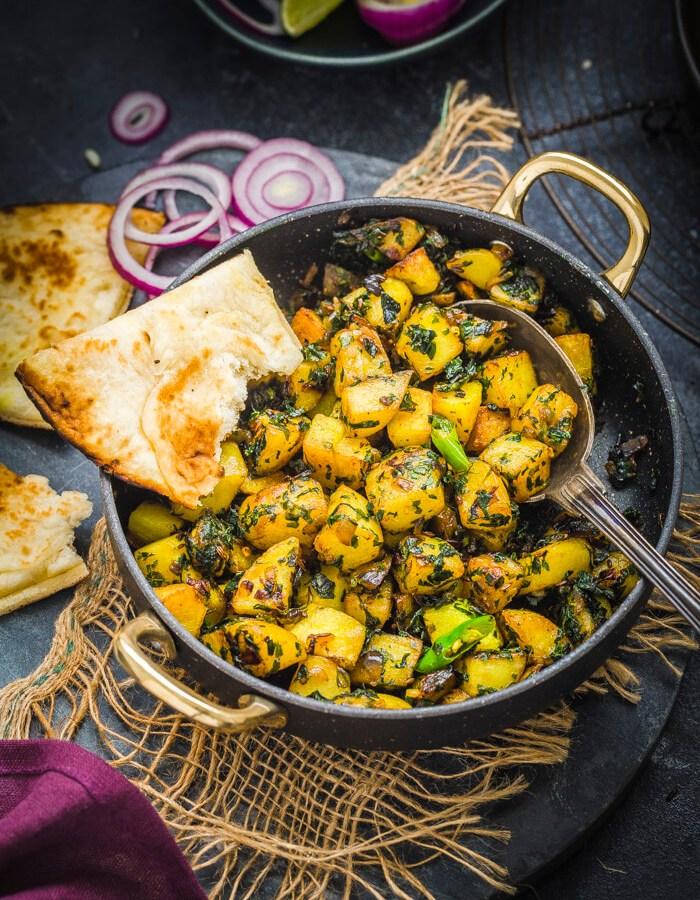 Aloo Methi recipe image