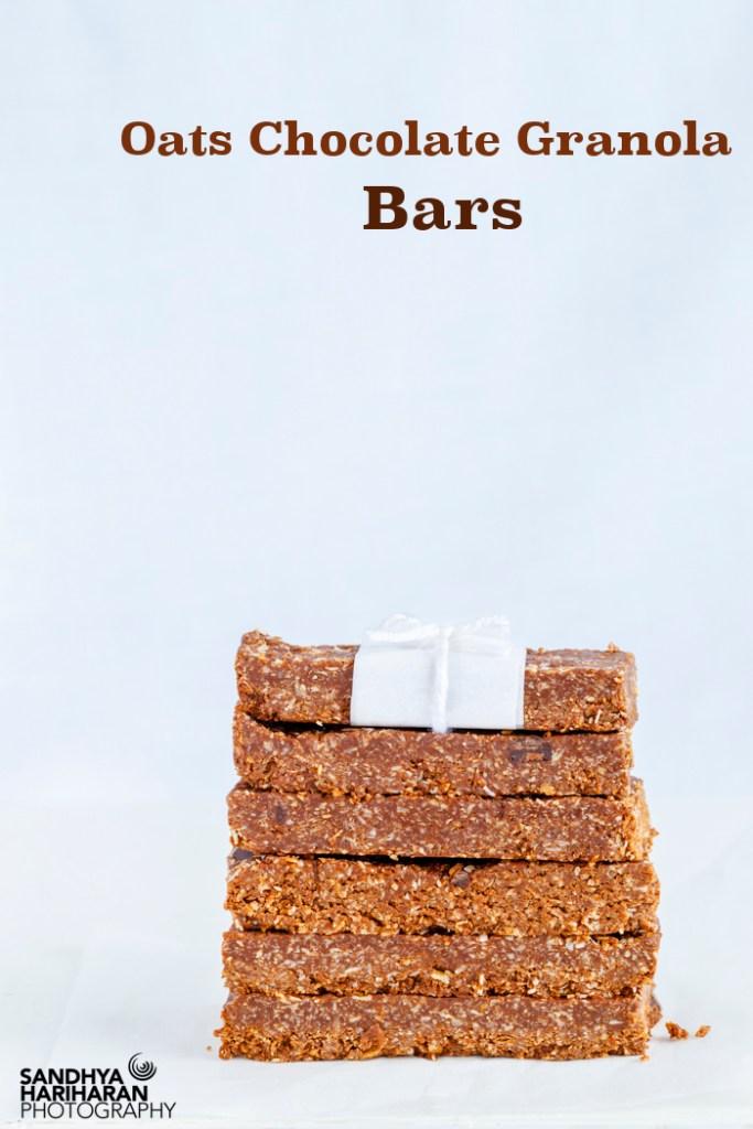 Oats Chocolate Granola Bars