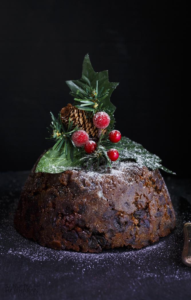 Vegetarian Christmas Pudding