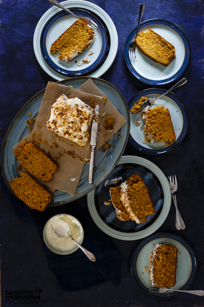 carrot cake with oil recipe image