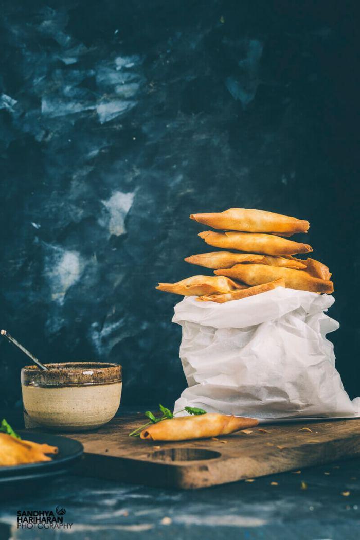 Potato and Peas Samosa Airfryer