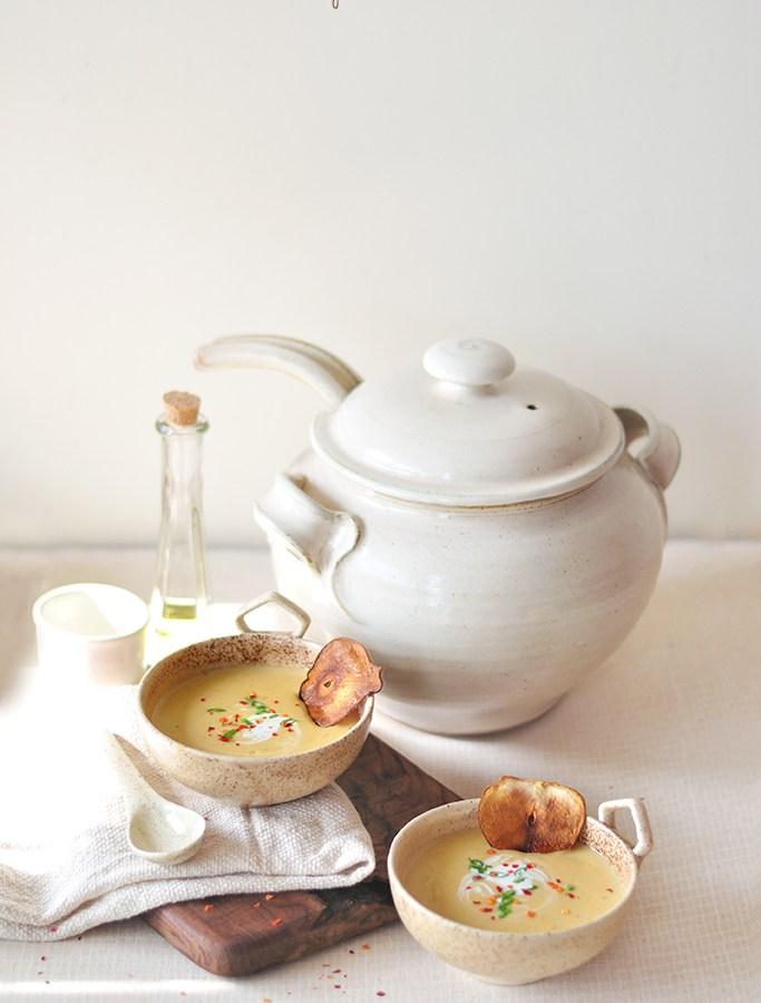 pear soup recipe image