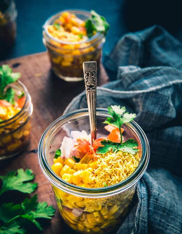 Sweet Corn Chaat - Masala Corn