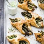 Halloumi Asparagus Puff Pastry