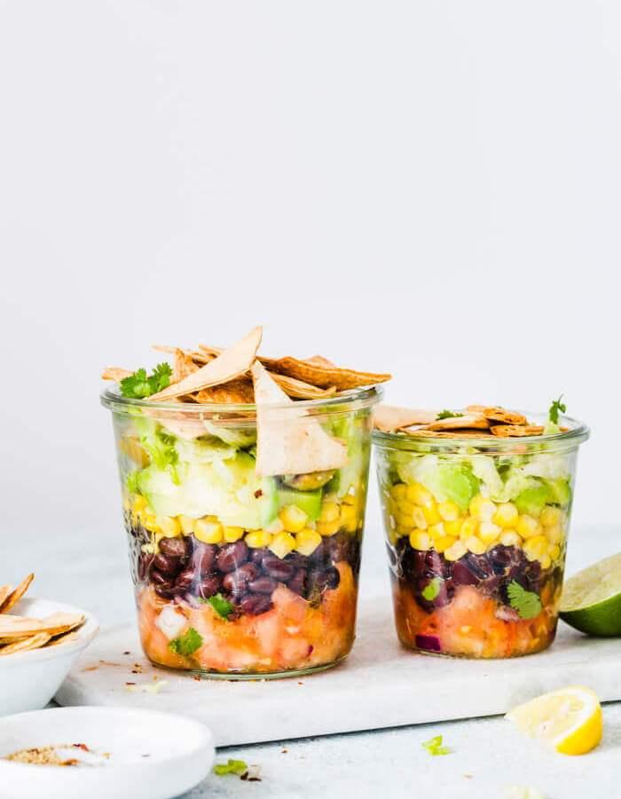 Mexican Mason Jar Salad