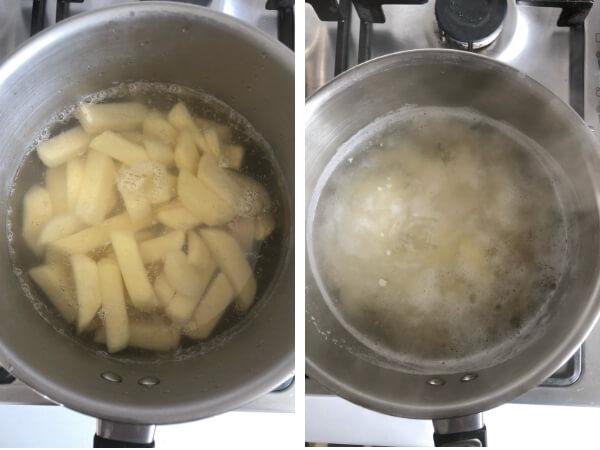 Potato Chunky Chips Airfryer