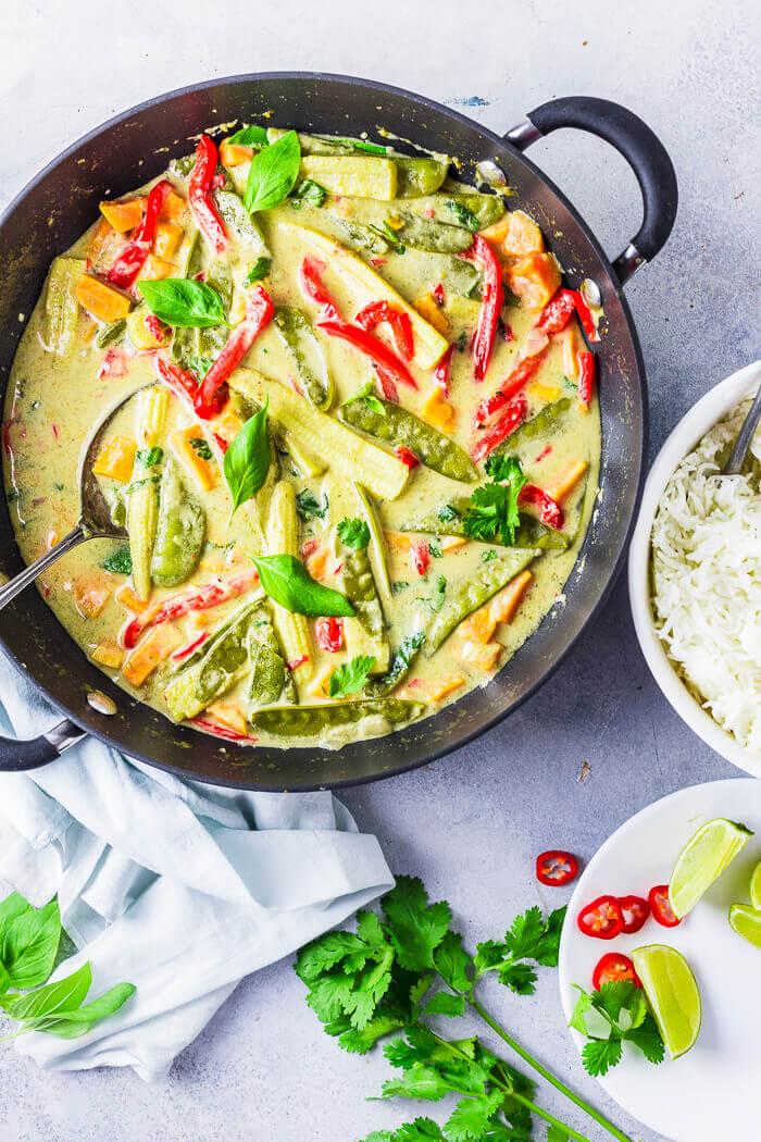 Thai Green Curry Vegetarian