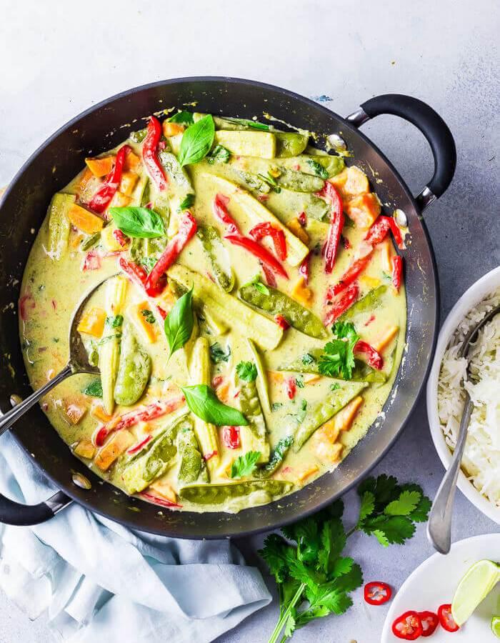 Thai Green Curry Vegan