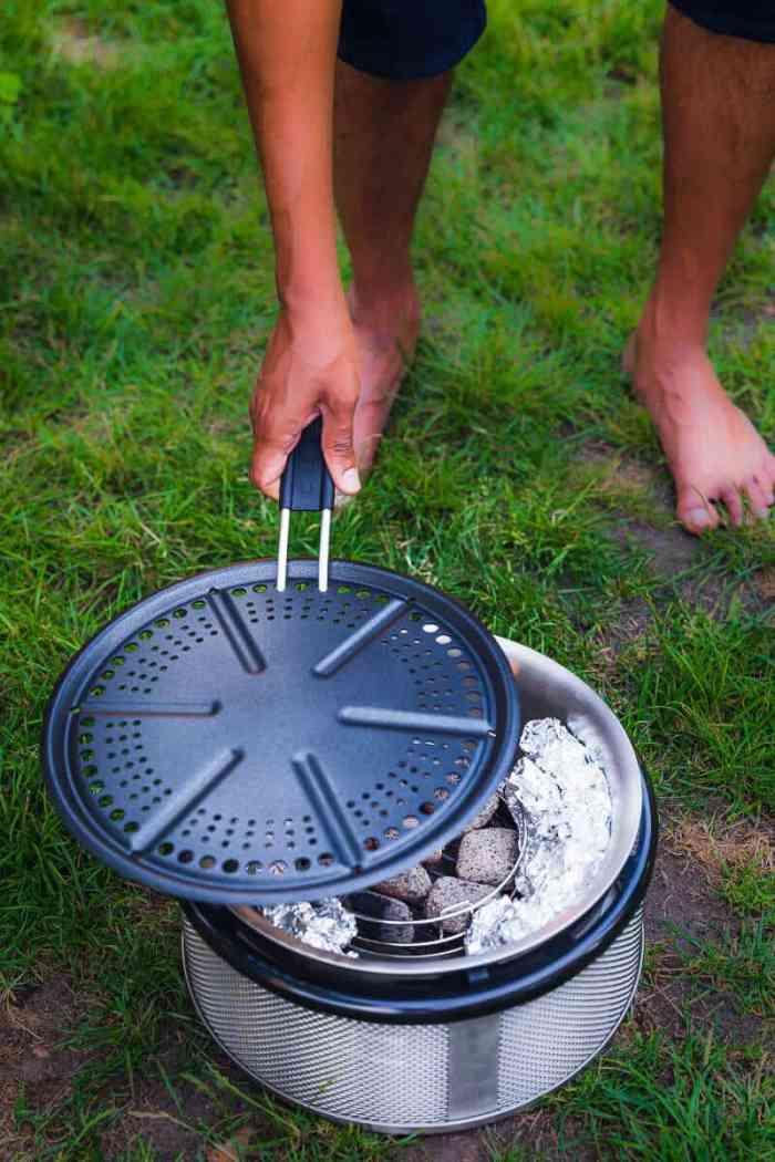 Cobb barbecue grill