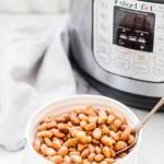 Instant Pot Pinto Beans { No Pre Soaking }