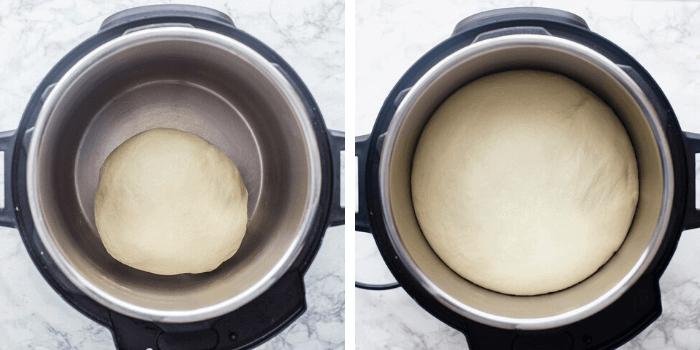 bread proofing in instant pot