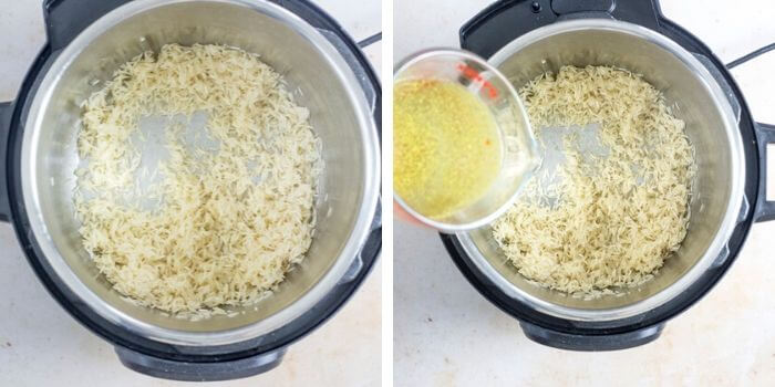 chipotle copycat cilantro lime rice step by step