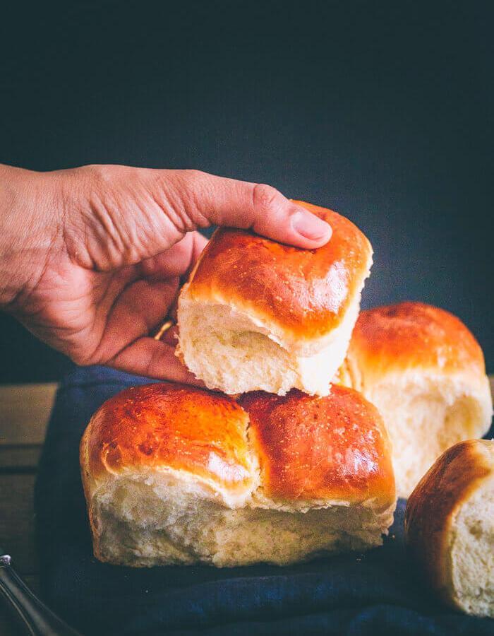 ladi pav dinner rolls