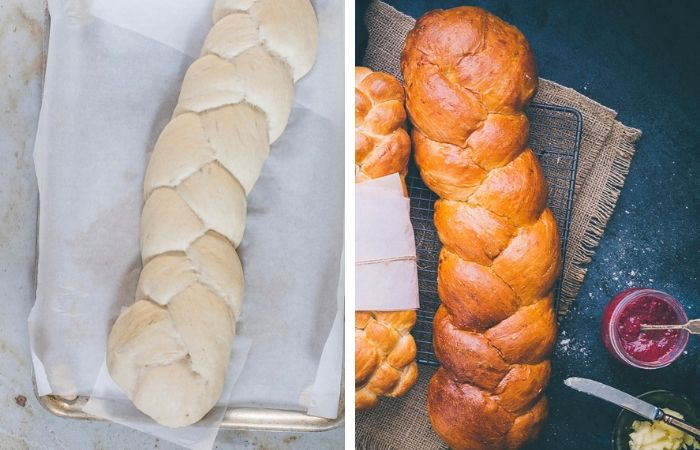 white bread step by step