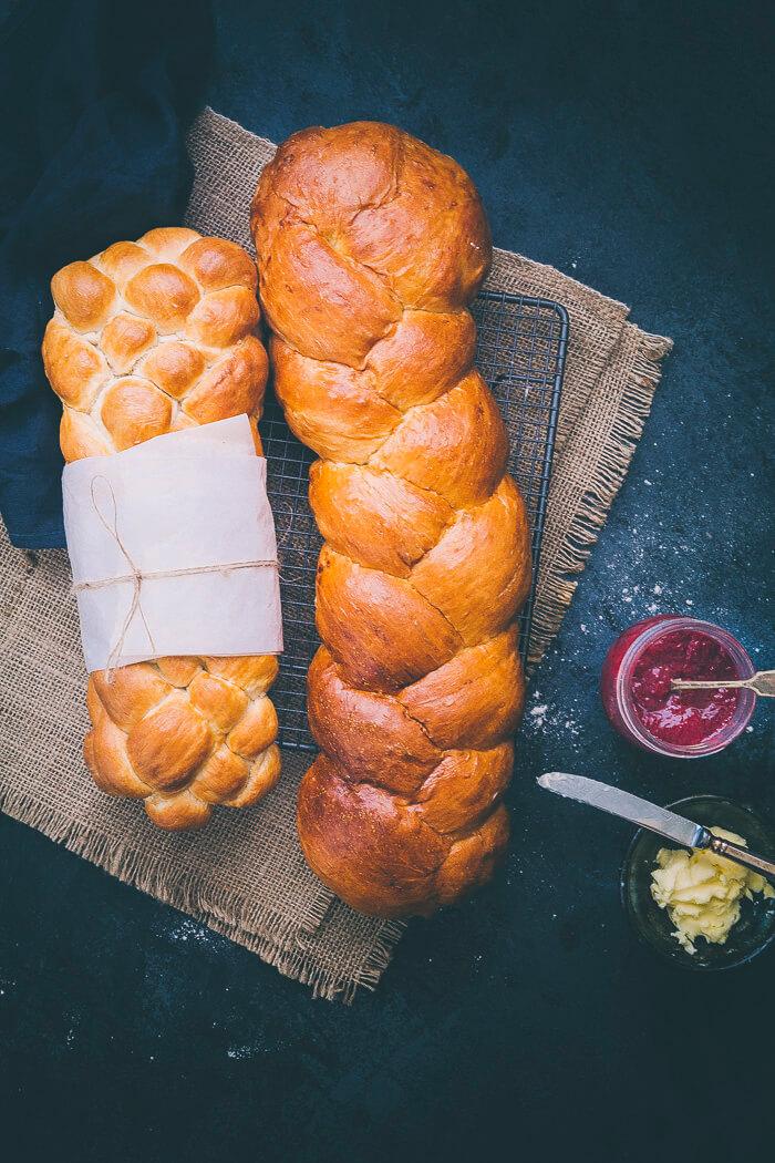 braided bread recipe image