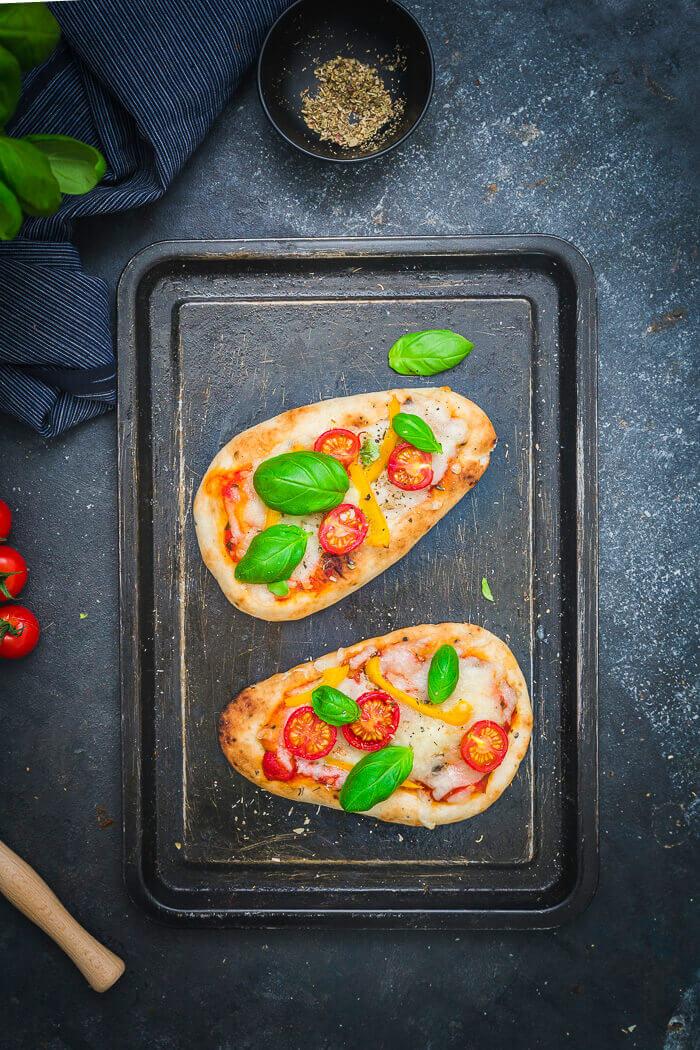 naan bread pizza recipe