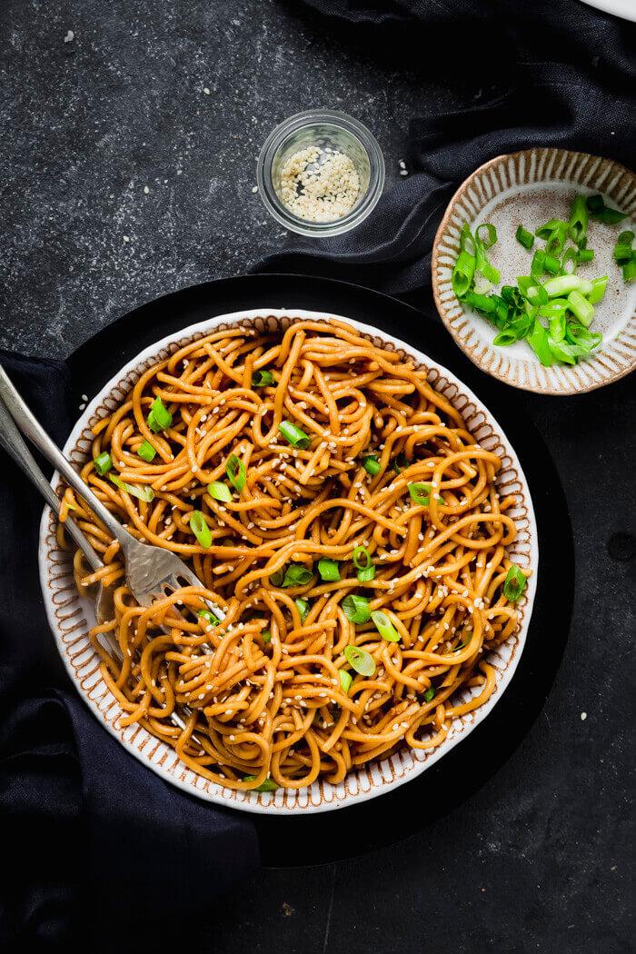 Instant Pot Garlic Noodles