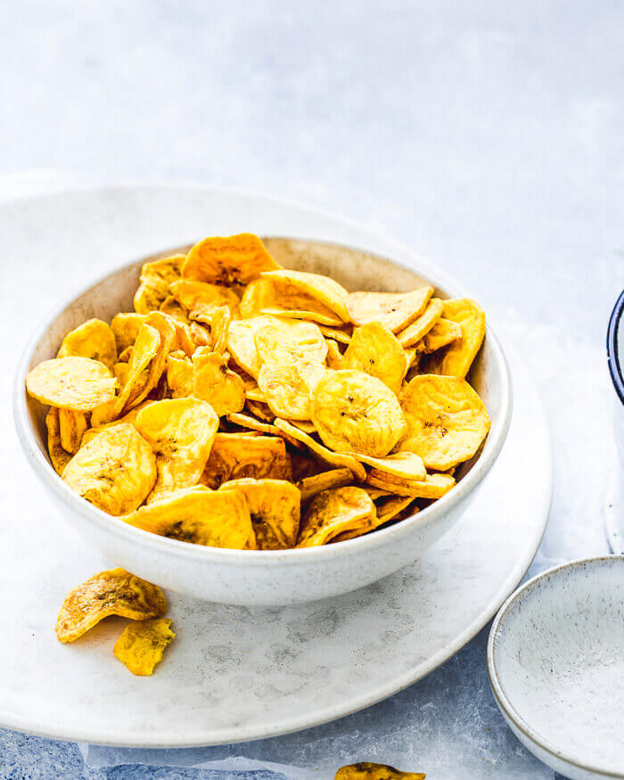 airfryer plantain chips recipe image