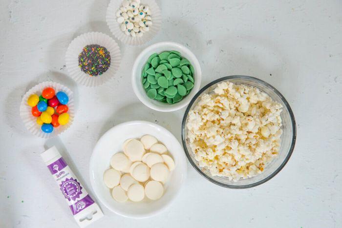 halloween popcorn recipe ingredients