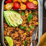 Instant Pot mexican quinoa recipe image