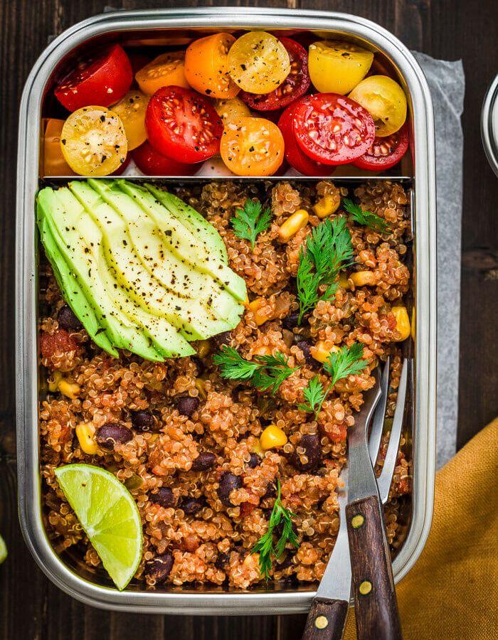 Instant Pot mexican quinoa recipe image