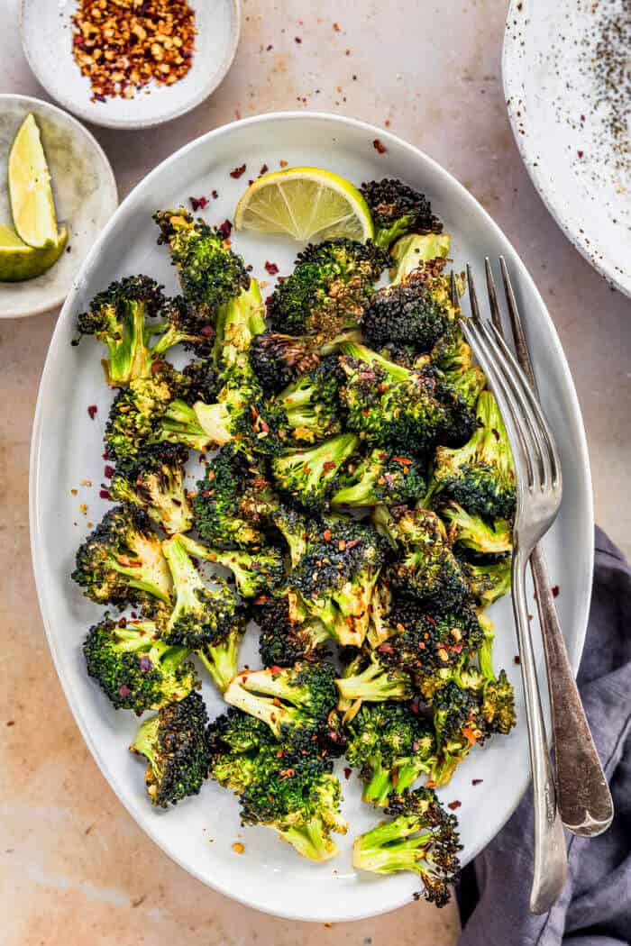 Crispy Airfryer Broccoli