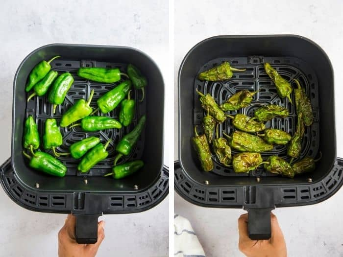 air fryer peppers