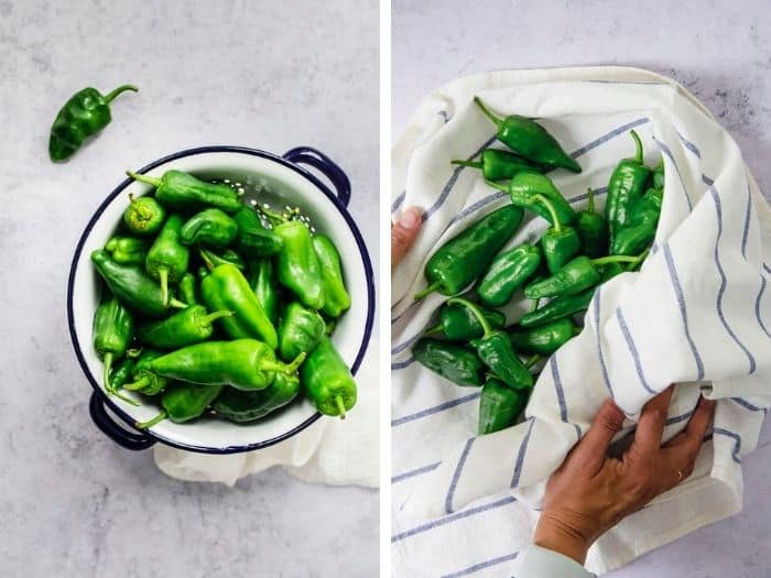 prep the peppers