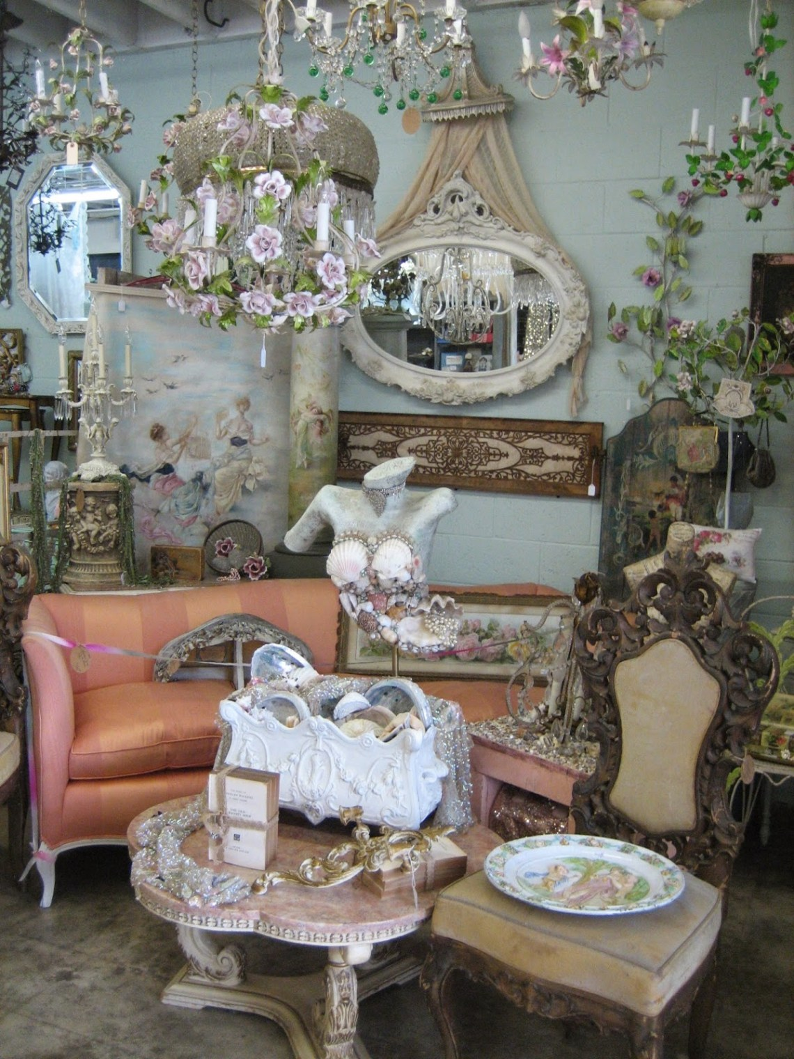 Vignettes Exclusive French Inspired Antiques - SAN DIEGAN