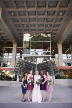 Downtown San Diego Central Library Wedding Images 1477