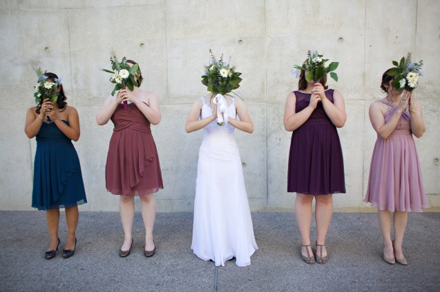 Downtown San Diego Central Library Wedding Images 1478
