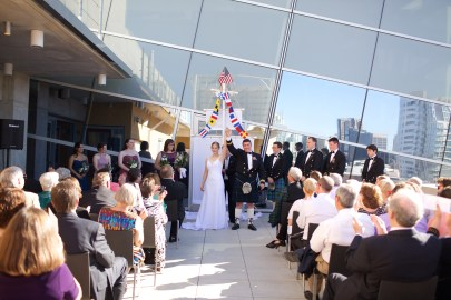 Downtown San Diego Central Library Wedding Images 1497