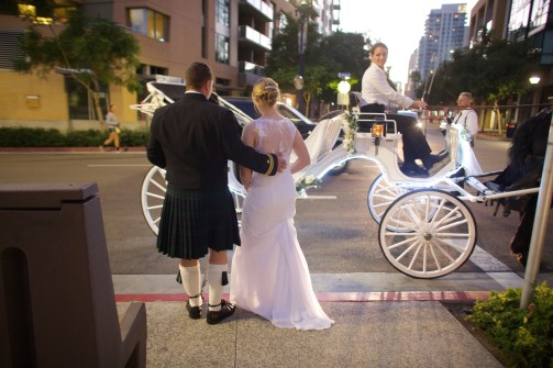 Downtown San Diego Central Library Wedding Images 1540