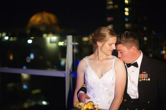 Downtown San Diego Central Library Wedding Images 1547