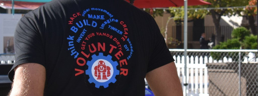 Volunteer, Maker Faire San Diego