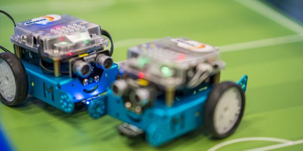 MFSD 2018 mini robots by NewEgg