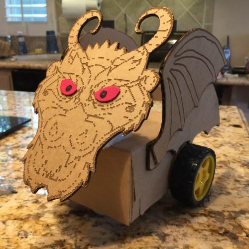 Cardboard Combat Bots