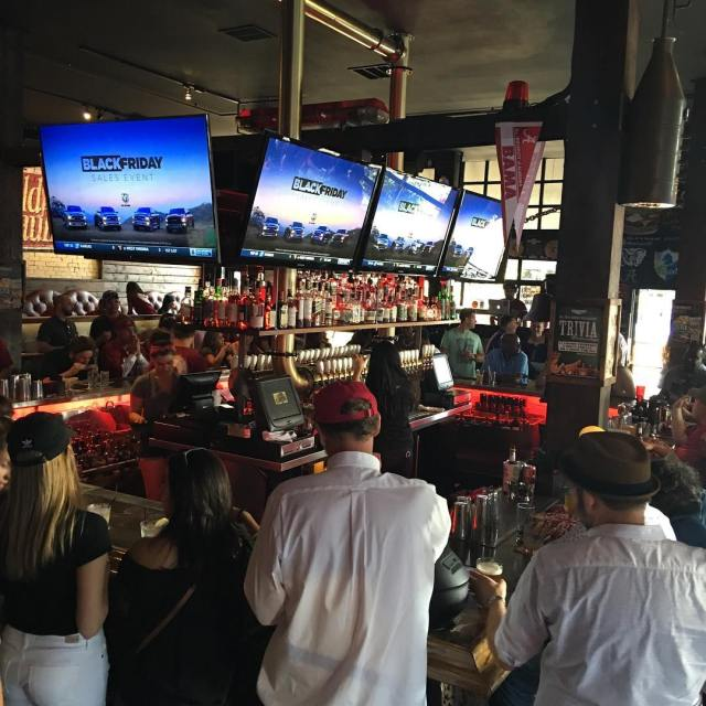 bootleggersd is filling up with Bama fans getting ready tohellip