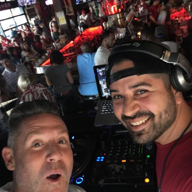 djeddiecutlass throwing it down yesterday bootleggersd as the tide rolledhellip