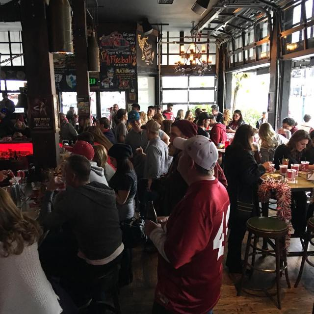 Packed out today bootleggersd rolltide bama