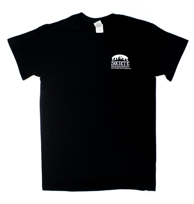 Societe Brewing Company Death Metal Tee
