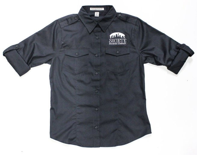 Societe Brewing Company Women's Work Shirt