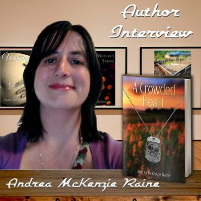 Andrea McKenzie Raine on Characters, Bookshelves & Self-Publishing