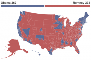 How Romney would have won. Credit: Huffington Post