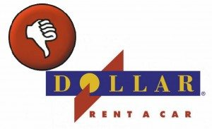 No dollar rent a car